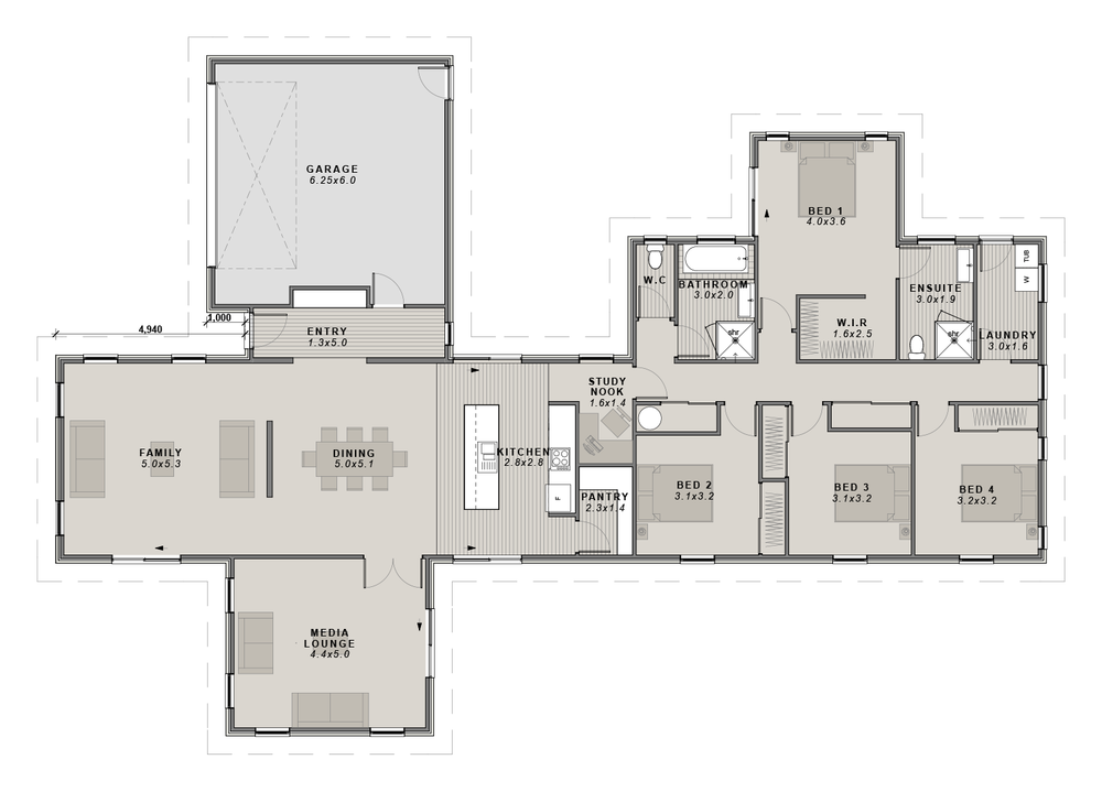 The Manhatten Floorplan