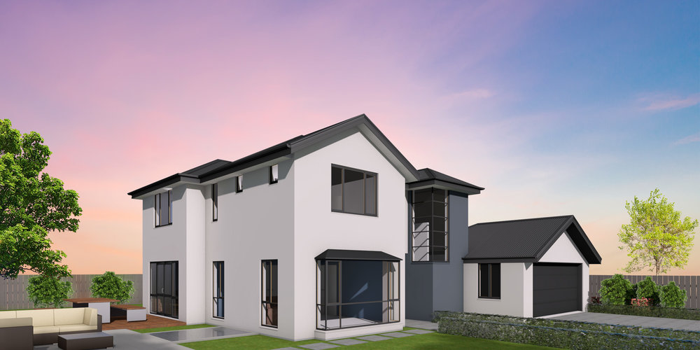 - The Medbury's clever two storey design reduces the footprint of your home, maximising your outdoor space. Live downstairs during the day and then retreat upstairs to the bedrooms at night.