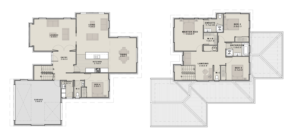 The Medbury Floorplan