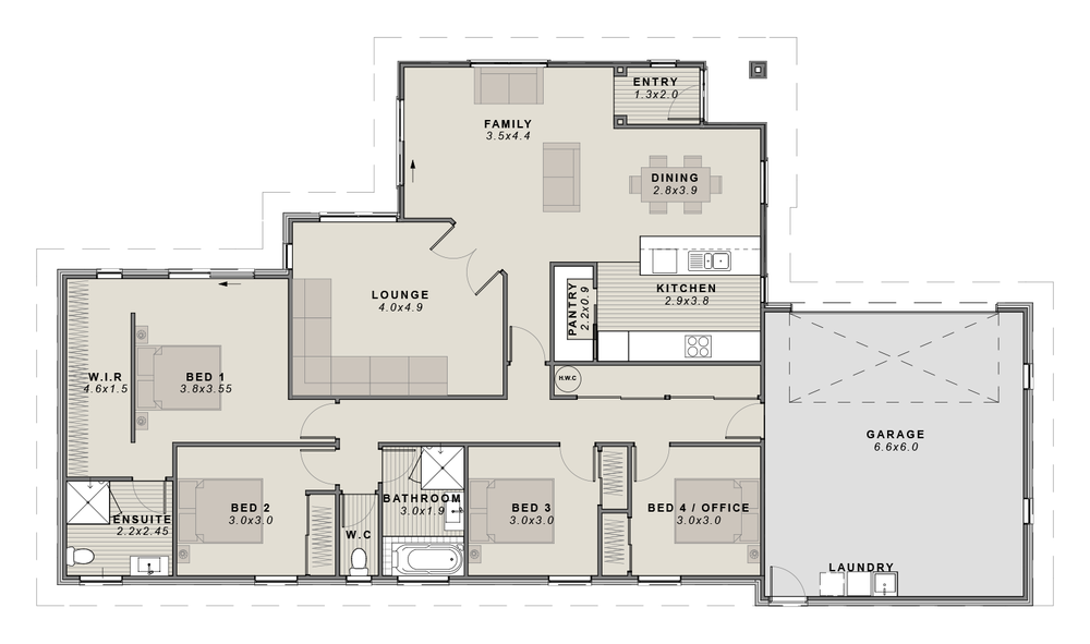 The Preston Floorplan