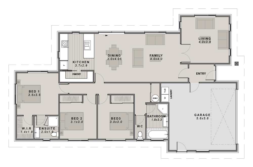 The Selwyn Floor plan