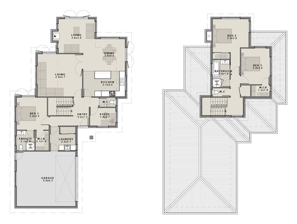 The Verdi Floor plan