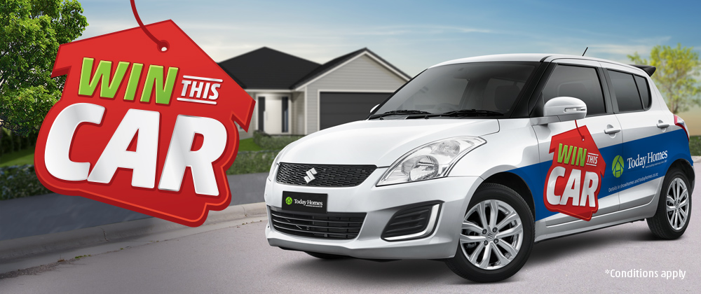 Win a new Suzuki Swift