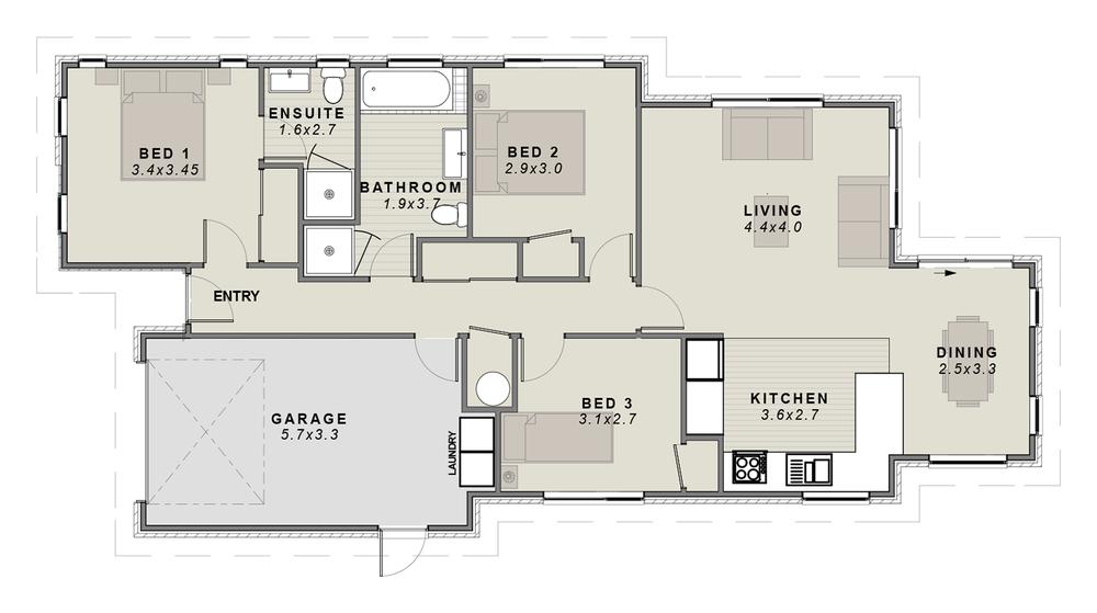 The Karamu Floorplan