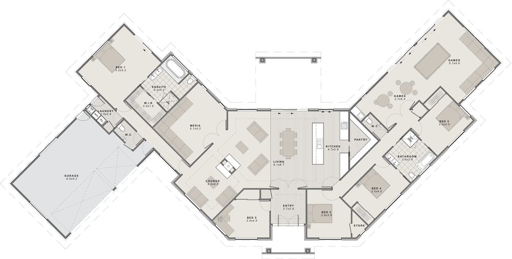 Rangitata Floor Plan
