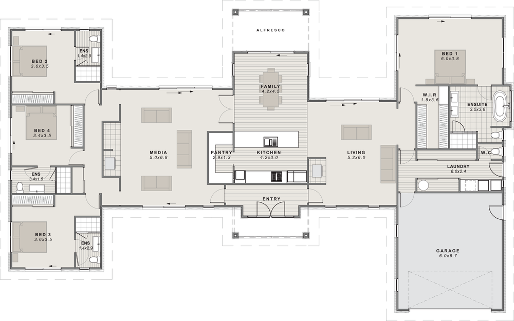 Glenroy Floor Plan