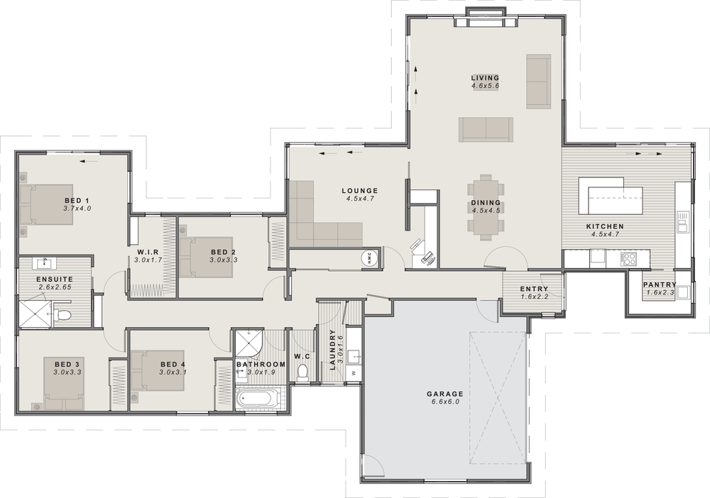 The St James Floor Plan