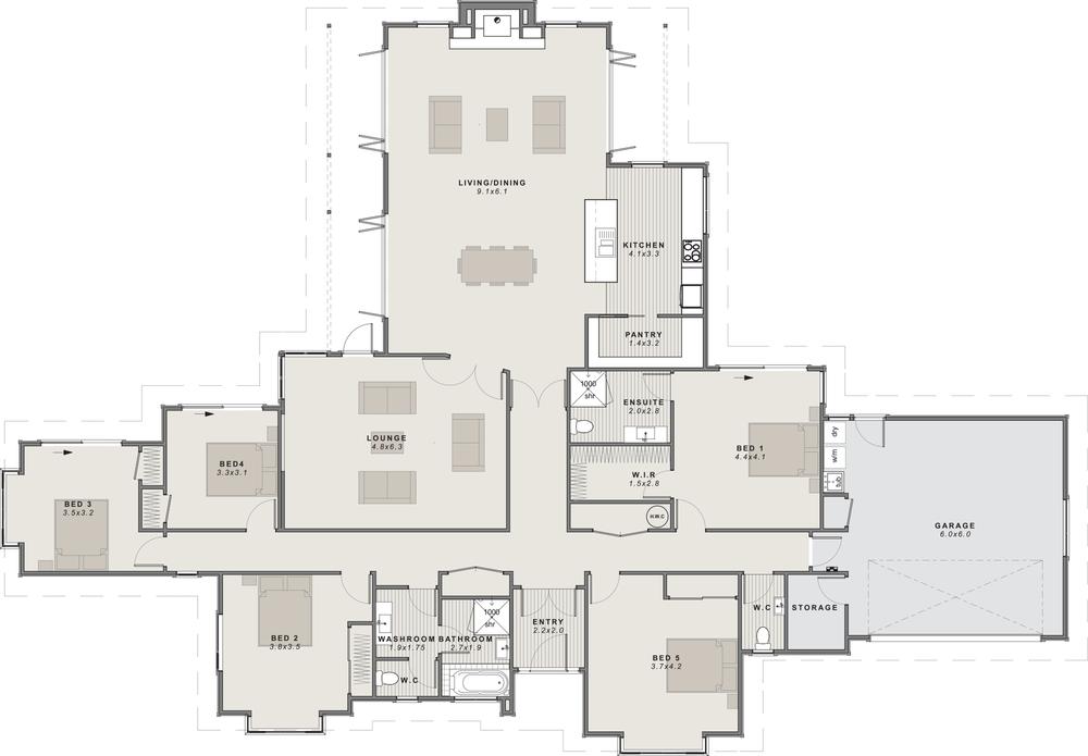 The Coleridge Floor Plan