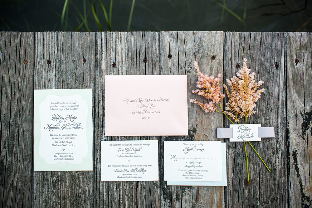 Historic Rice Mill Invitations