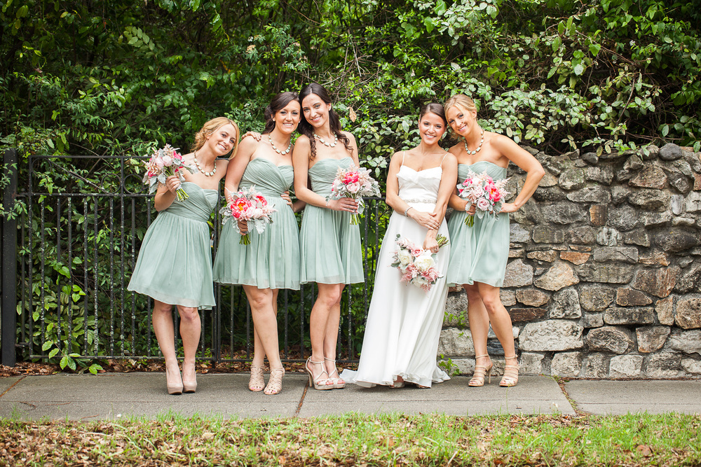 Historic Rice Mill Wedding Bridesmaids