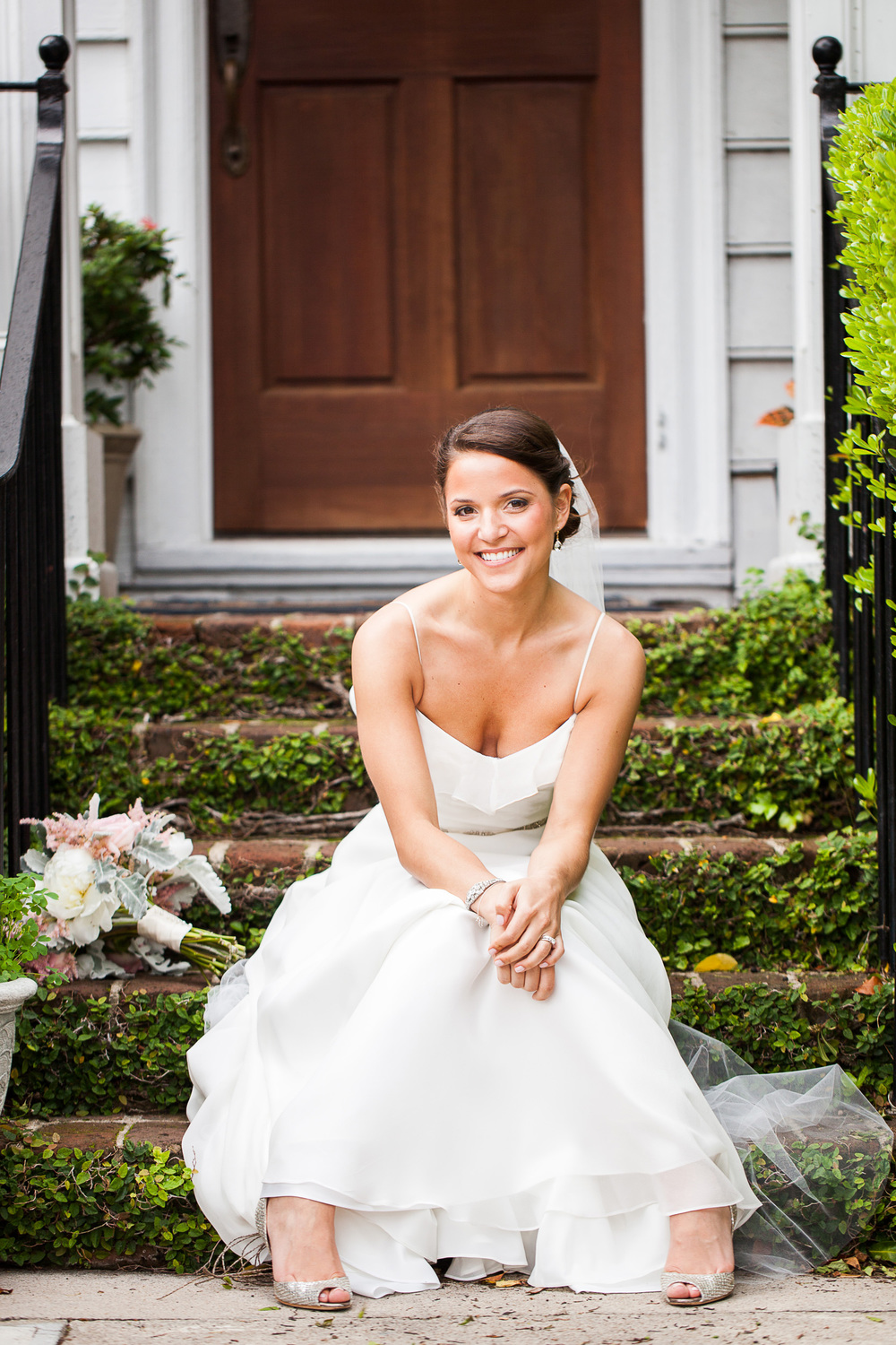 Historic Rice Mill Wedding Bride