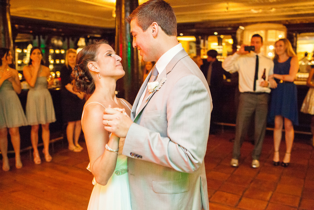 Historic Rice Mill Wedding Bride Groom First Dance
