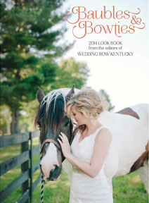 Baubles and Bowties Magazine - 2014 - Kristie and Chris' Real Wedding Feature