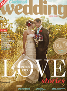 Cincinnati Wedding Magazine - Fall 2013 - Carl and Arwen's Main Feature & Article