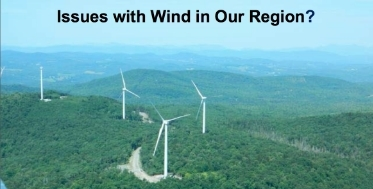 Issues with Wind in Our Region