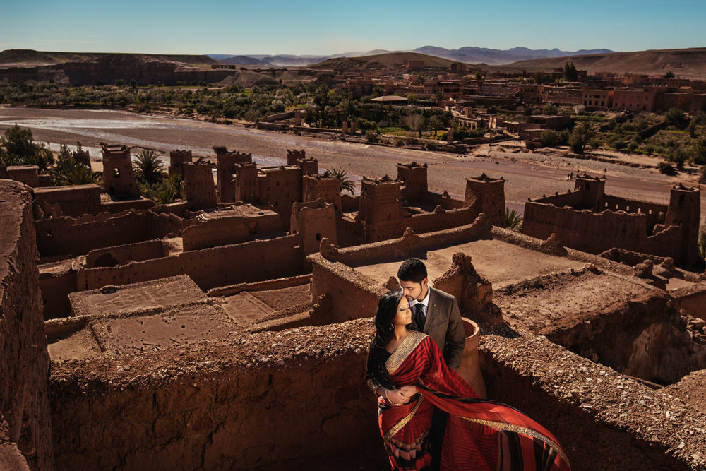 shot at Ouarzazate at the Ait Benhaddou