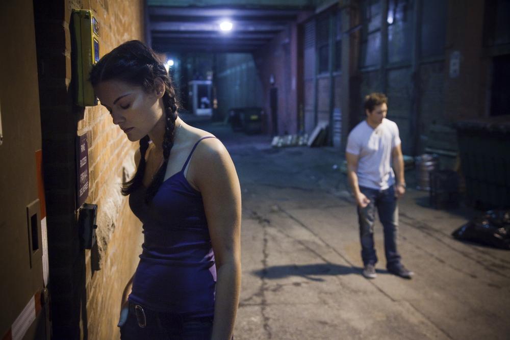 """Jamie Alexander & Peter Facinelli, """"Loosies"""", 2010"""