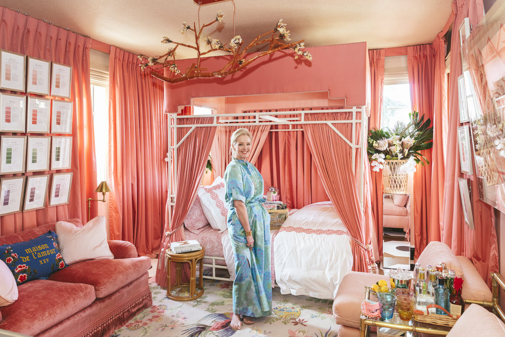 Danielle Rollins in her room at Kips Bay