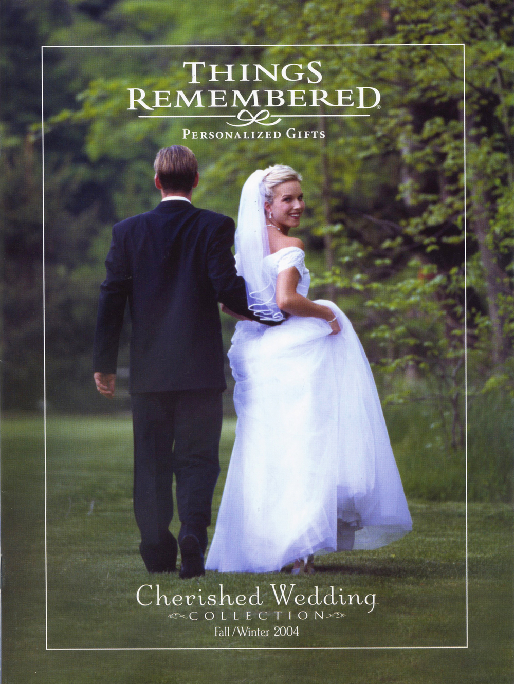 Things Remembered Wedding collection catalogs.Talent shot on location