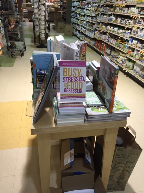 """Busy, Stressed, and Food Obsessed!"" on display at Whole Foods"