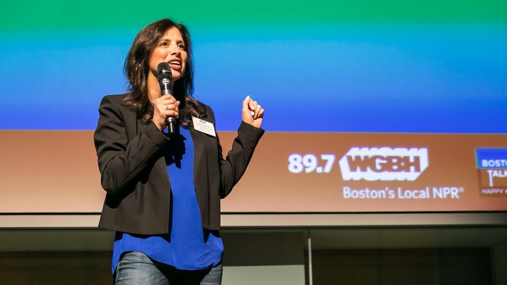 Watch Lisa speaking at WGBH - Boston's NPR - The Theme was Escape!