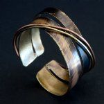 Brass Chance Meeting Cuff