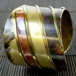 Brass Serenity Cuff