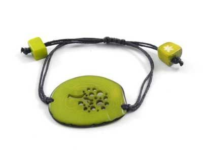 Tagua Tree of Life Bracelet