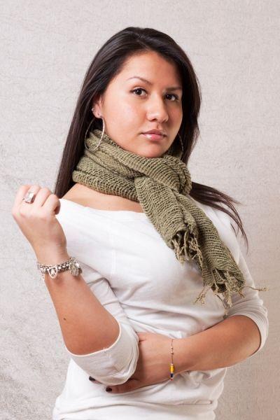 Ton Fai Free Weave Scarf