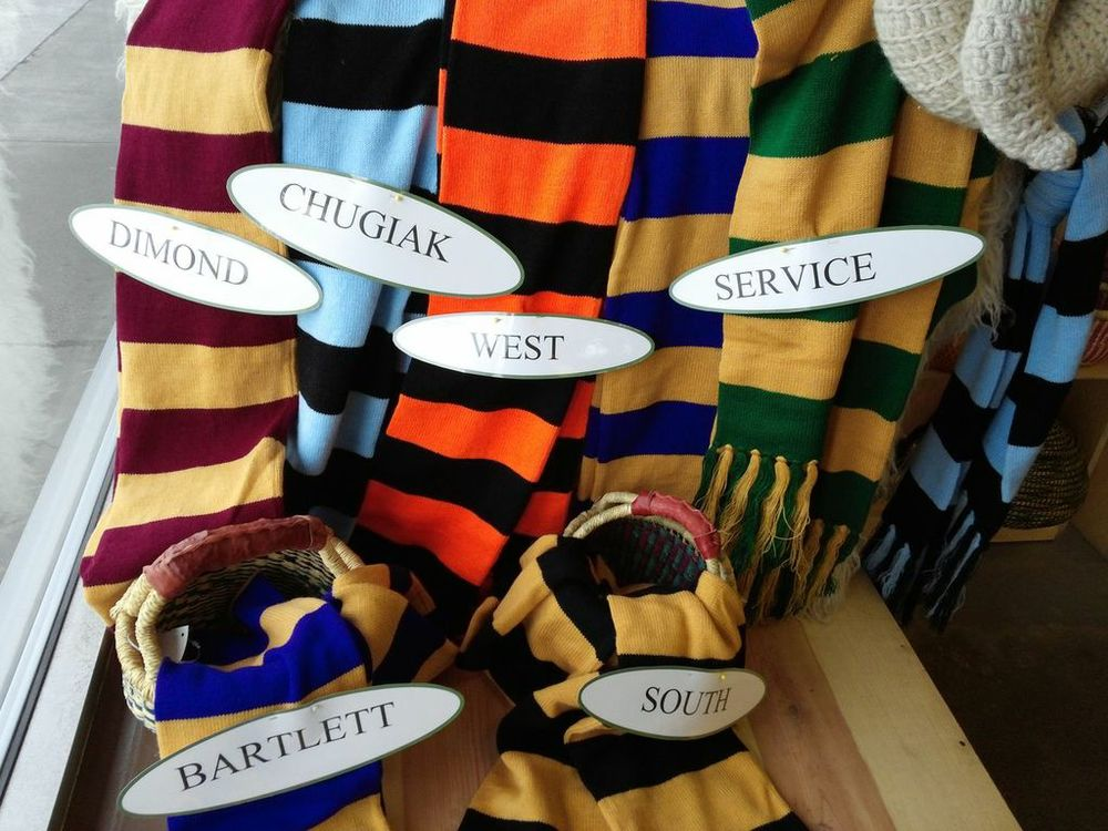 Alpaca School Spirit Scarves