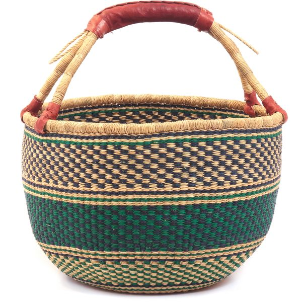 Bolga Basket by the Frafra Weavers in  Ghana