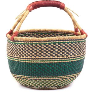 fair trade home decor. Bolga Basket by the Frafra Weavers in Ghana Home Decor  GrassRoots Fair Trade