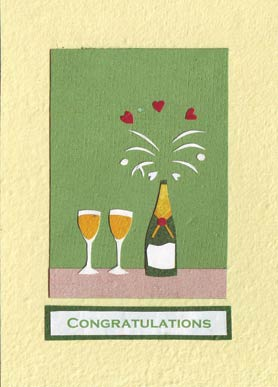 Congratulate a happy couple with this card from  Cards from Africa  in  Rwanda