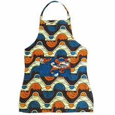 Gorgeous apron made in  Malawi  by  Dsenyo