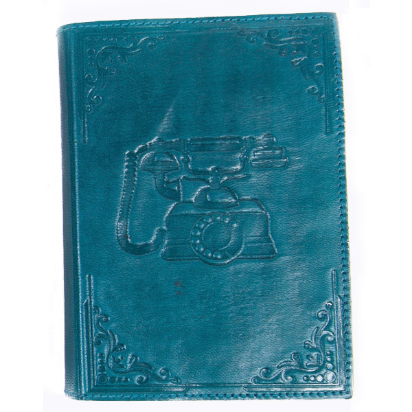 Sustainably sourced leather journal with recycled cotton paper, handmade in  India  by  Matr Boomie