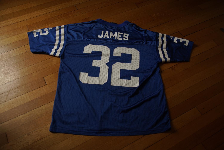 huge selection of d5c5f c56d7 Edgerrin James Adidas Colts Jersey (XXL)