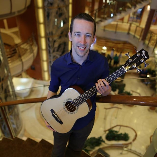 Milo Fultz Will be teaching 'Ukulele Bass classes on board, Sponsored by Ohana 'Ukulele!