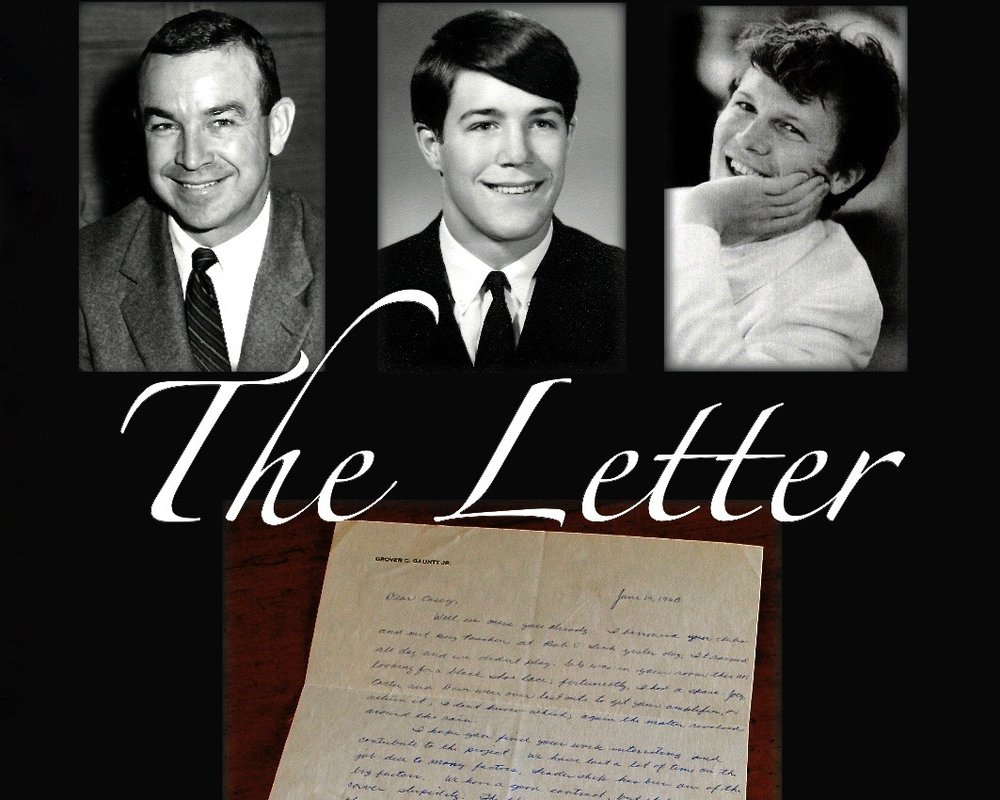 "- The LetterEighteen year-old Casey Gauntt spent the summer of 1968 working for his dad's construction company in Coalwood, WV. In 2008, he got a phone call from from a woman who told him she ""had something that he'd left in Coalwood 40 years ago"". That call changed his life forever. (10 min)"