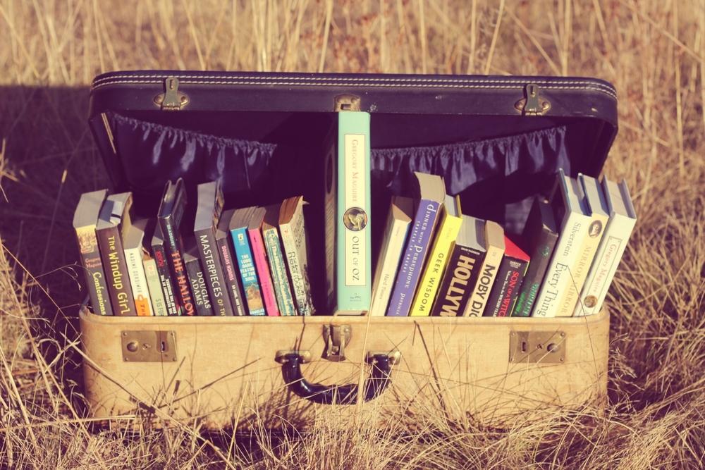 Βιβλιοφάγοι στην παραλία