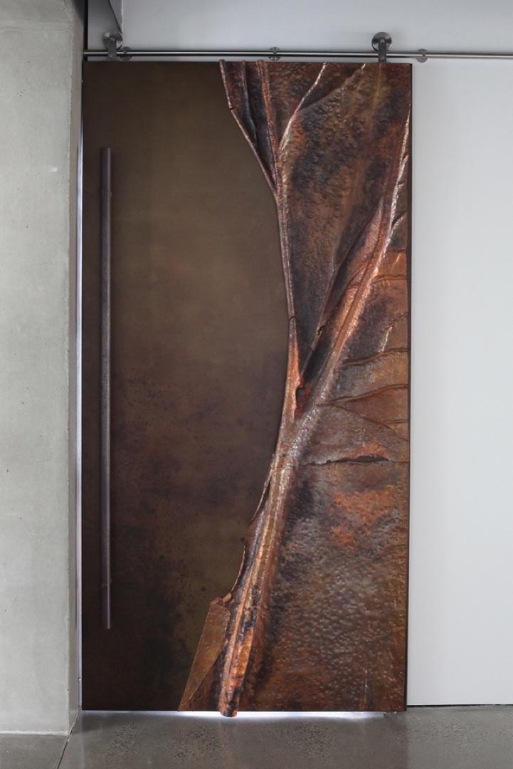 Door(w.beaten copper).jpg & Interior Doors u2014 WHY ART