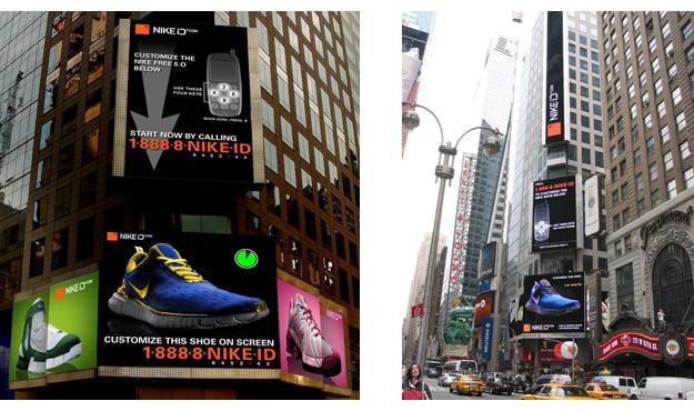 NIKE Billboard ROLE:Designer Clent:NIKE Agency:R/GA