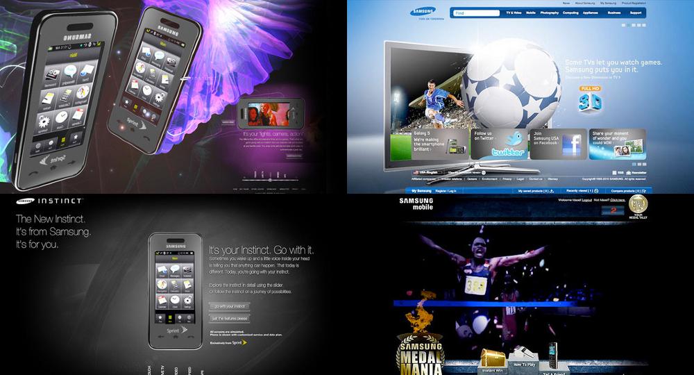 Samsung ROLE:Sr. Designer Clent:Samsung Agency:Digitas