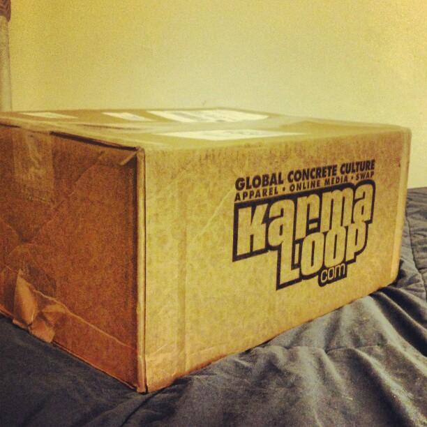 #Karmaloop x atslopes #shipping #tees #fashion #clothing #tshirts  (Taken with  instagram )