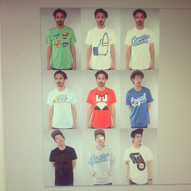 Amazing work from the photographers at #karmaloop thanks #streetwear #fashion #tees (Taken with  instagram )