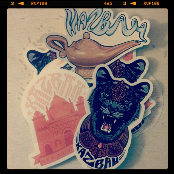 Many thanks to @selkoe for these amazing #stickers & letting me be apart of #karmaloop (Taken with instagram)