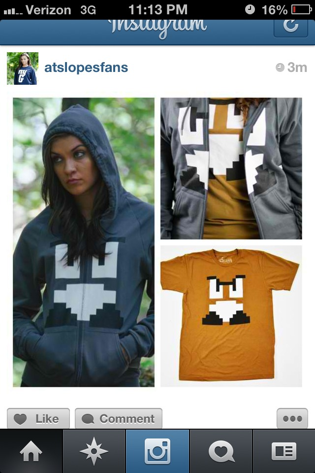 Dope goomba tee and sweater!