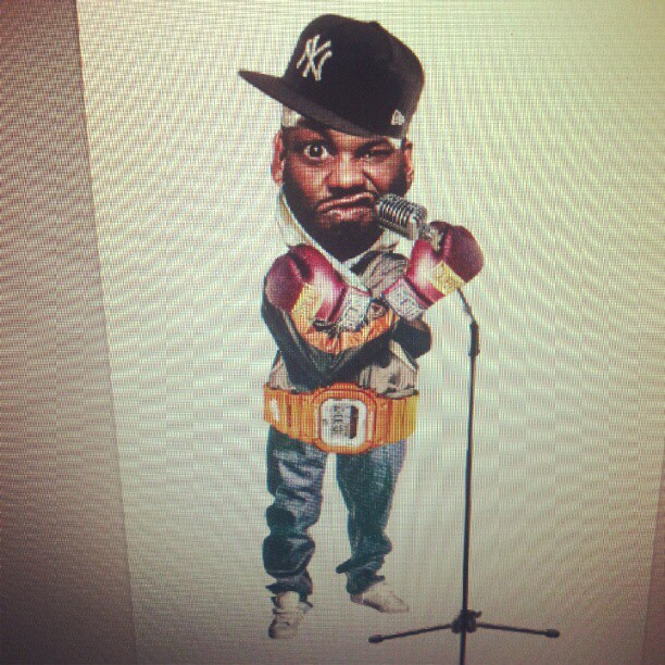 #Raekwon #wutang #hiphop #rap #art #custom #collages (Taken with  Instagram )