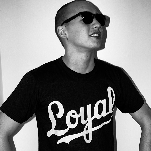 "If your Loyal to your crew, team, squad, or Friends you need the ""loyal""shirt…its available in 3 colors exclusively @atslopes"