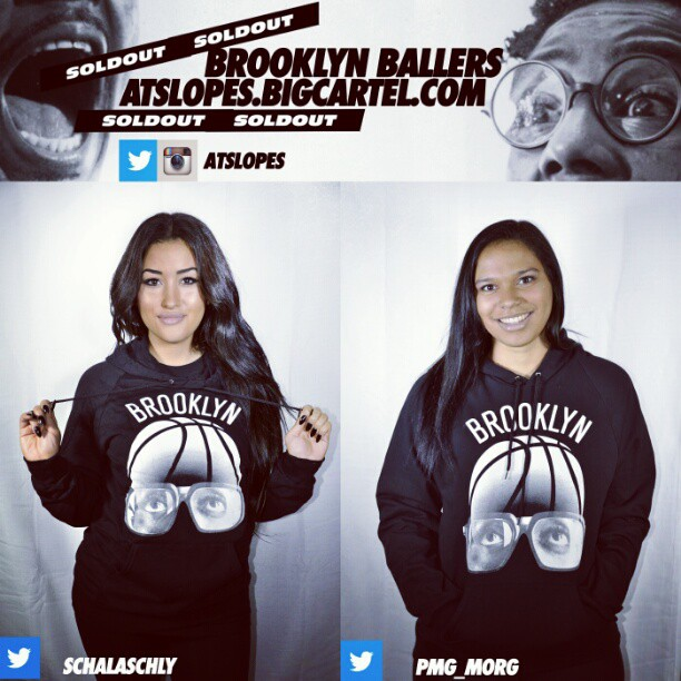 #soldout http://atslopes.bigcartel.com #brooklyn #ballers #basketball #hoodies thanks @schalaschly @pmg_morg #nice #fashion #models #cute #nets #jayz #black #white #night #style #2012 #winter #girls #cool #photo #streetwear #life #hiphop #movie #ny #like #pretty #happy #cute #photooftheday #love #sports #christmas