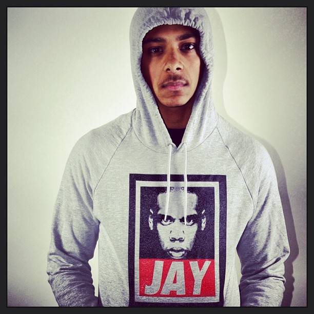 "Go cop a jay hoody and use the code ""fashion"" for 10% off"